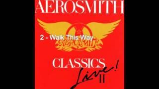 Aerosmith 1987 Classics Live II Full Album