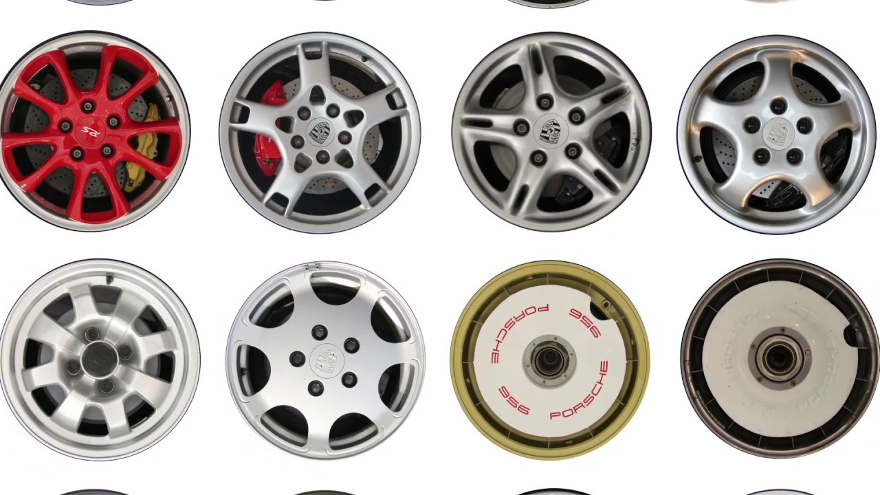 Porsche Wheels , An Artwork by Etienne Salomé