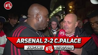 Arsenal 2-2 Crystal Palace | Emery Is Useless ITS TIME TO GO!! (Claude)