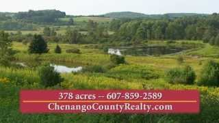 Upstate New York Hunting & Fishing Properties FOR SALE - Chenango County Realty