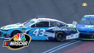 Alex Bowman, Bubba Wallace have run-in at Charlotte, exchange words | Motorsports on NBC