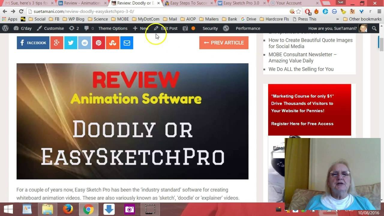 Review: Doodly or EasySketchPRO 3 0? - Gday
