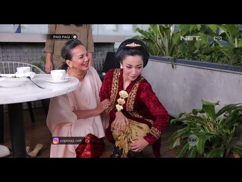 Hesty Diajarin Cara Jalan Ala Ibunya Kartini