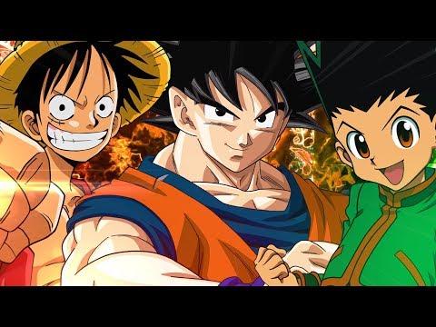 8b8d693b716f4 Goku VS. Luffy VS. Gon