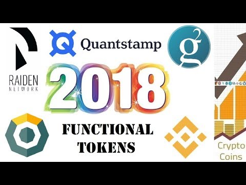 Top 5 Functional Coins and Tokens Cryptocurrency Choices for 2018
