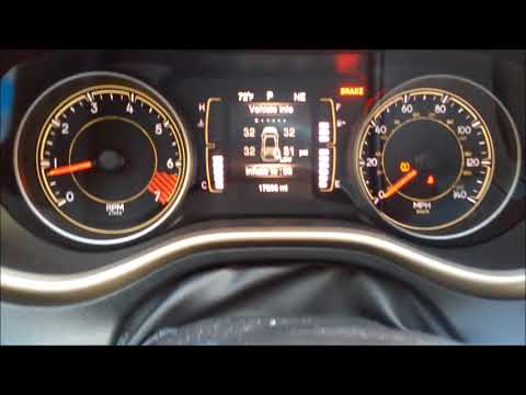 Jeep cherokee tire pressure sensor problems - YouTube