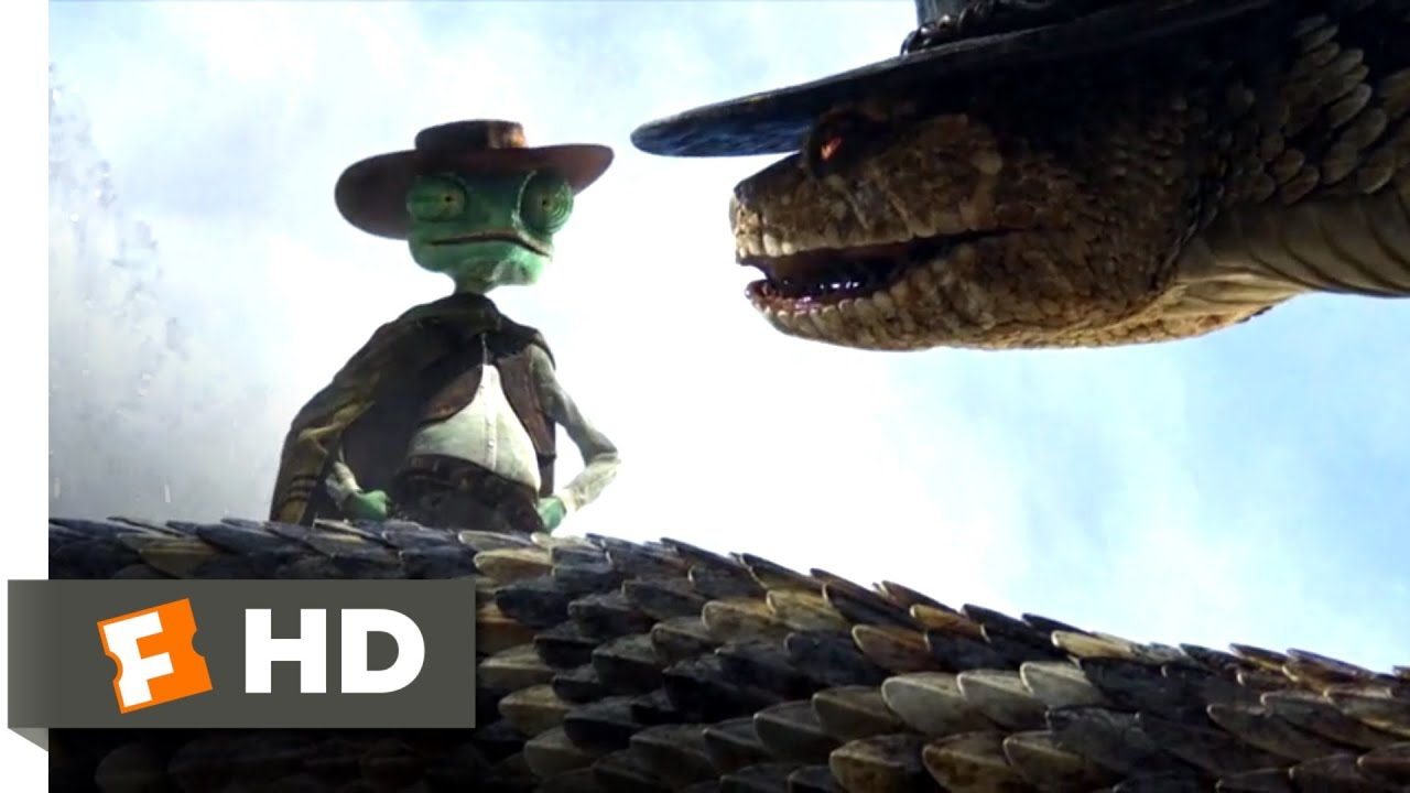 Download Rango (2011) - It Only Takes One Bullet Scene (9/10) | Movieclips