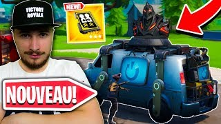 THE NEW VAN OF REAPPEARANCE IS TROP CHEATE ON FORTNITE !!!