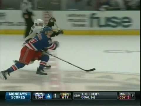 Sidney Crosby Slewfoots Ryan Callahan