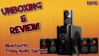 Frisby FS-5010BT 5.1 Surround Sound Unboxing & Review!