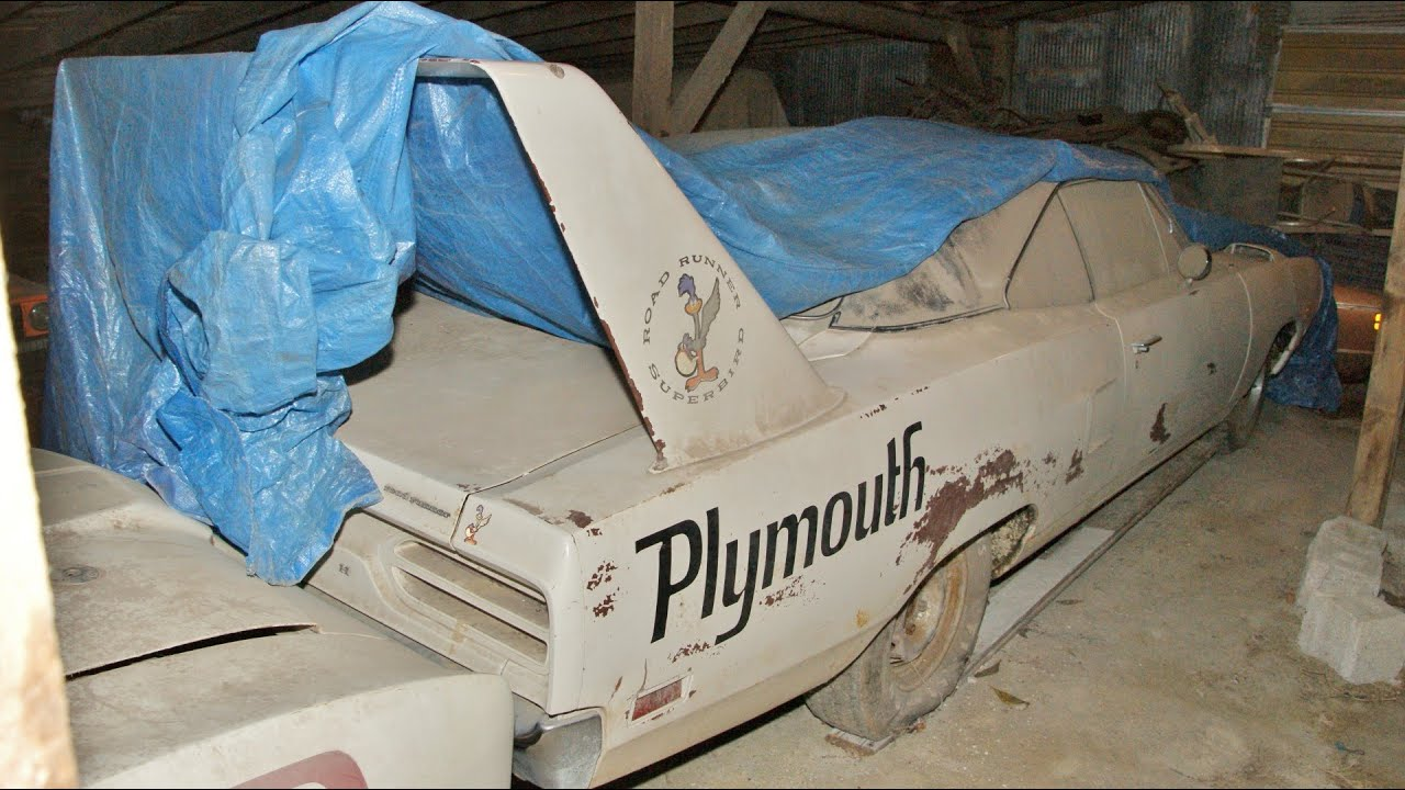 The EPIC Barn Find Superbird Talladega Spoiler UPDATE