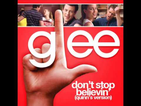 Glee - Don't Stop Believin' (With Quinn's Solo) (Acapella)