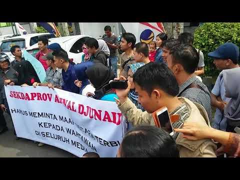 Usai Tampar Pegawai Garuda, Arinal Kriminalisasi Jurnalis