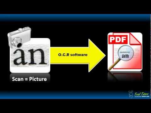 Making PDFs Searchable (Acrobat Standar/Pro Version 9) - YouTube