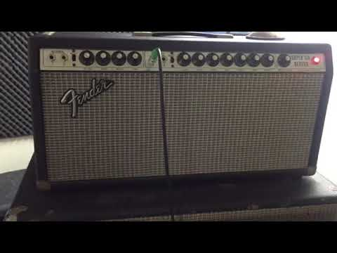 Fender Super Six Reverb HEAD MOD With Bass Man 100 Pyramid