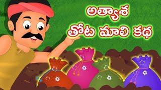 అత్యాశ తోటమాలి కథ|Story Of a Greedy Gardner |Telugu Stories |Telugu Moral Stories For Kids |Edtelugu