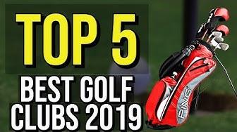 ✅ TOP 5: Best Golf Clubs 2019