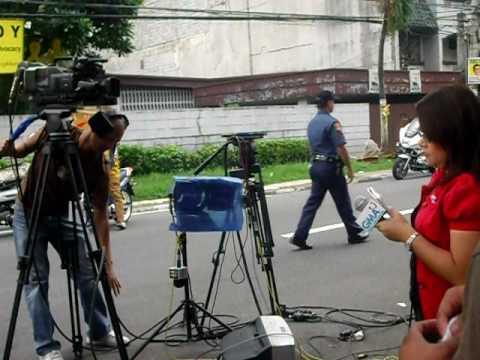 Michael Reganit Video Clip @ Times Street, West Triangle, Quezon City