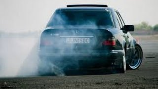 Mercedes-Benz w124 Brutal Drift & Burnout ✔