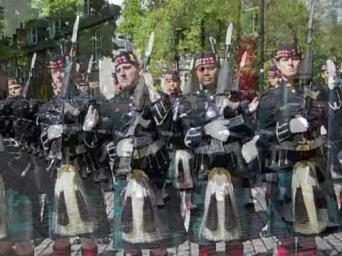 Gordon Highlanders Regiment in Aberdeen
