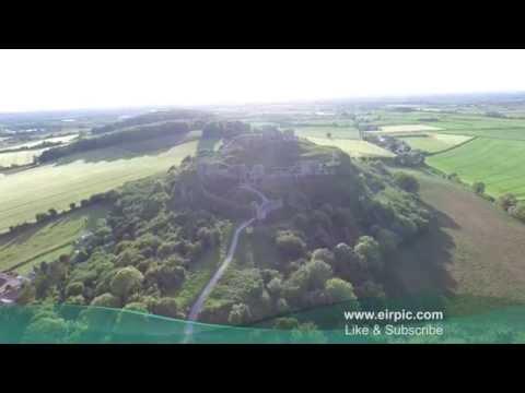 Rock of Dunamase - Laois - Ireland - The Irish Drone