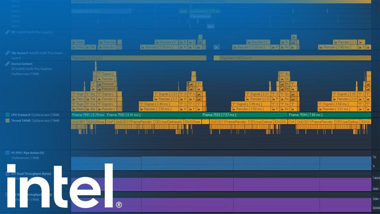 Graphics Trace Analyzer Deep Dive Video Series   Part 3   Configure Custom Layouts   Intel Software
