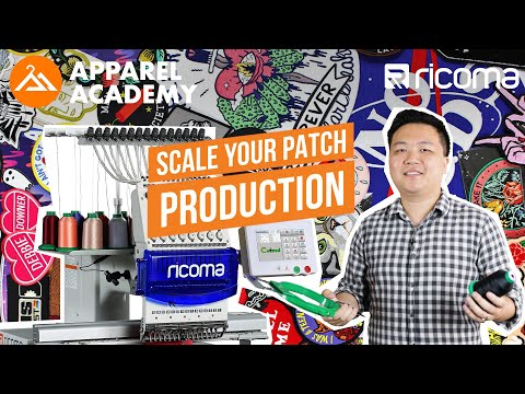 Bulk PATCH EMBROIDERY💰(Choosing An EMBROIDERY MACHINE) | Apparel Academy Podcast (Ep.20)