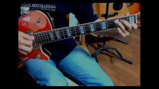 Jeff Beck - Greensleeves (guitar cover)