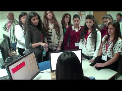 Alfa telecom celebrates GIRLS IN ICT DAY 2013 - Beirut, Lebanon