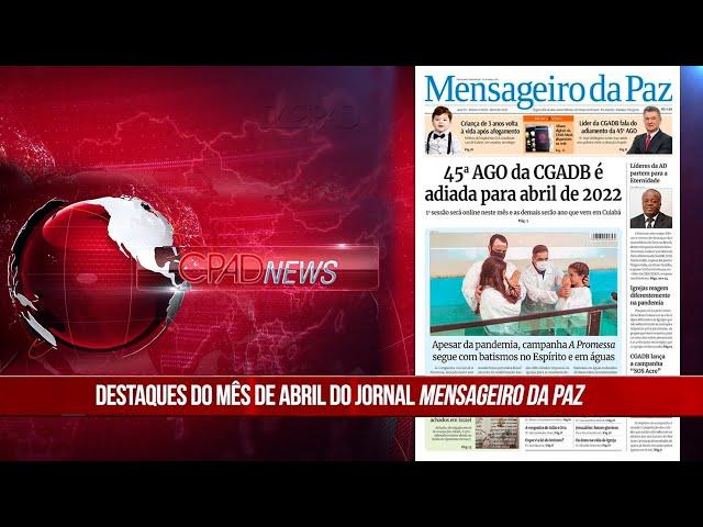 Boletim Semanal de Notícias - CPAD News 203