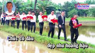 Karaoke CHÚC MỪNG HÔN LỄ-Xang xừ líu