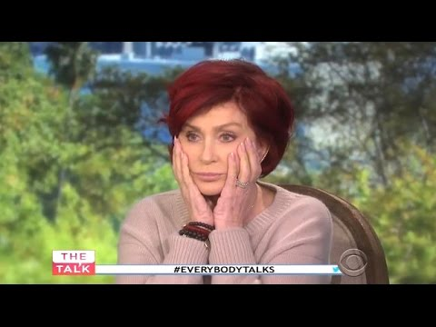 """Sharon Osbourne - Mocks National Enquirer For """"Weeks To Live"""" Story - The Talk"""