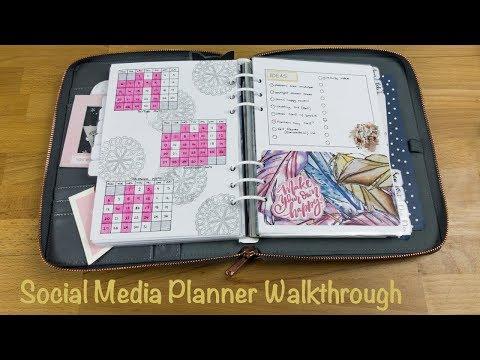 Social Media Planner Walkthrough