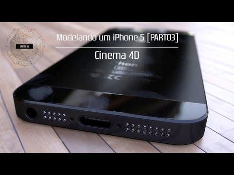 Cinema 4D - Modelando Um IPhone 5 [EP03]