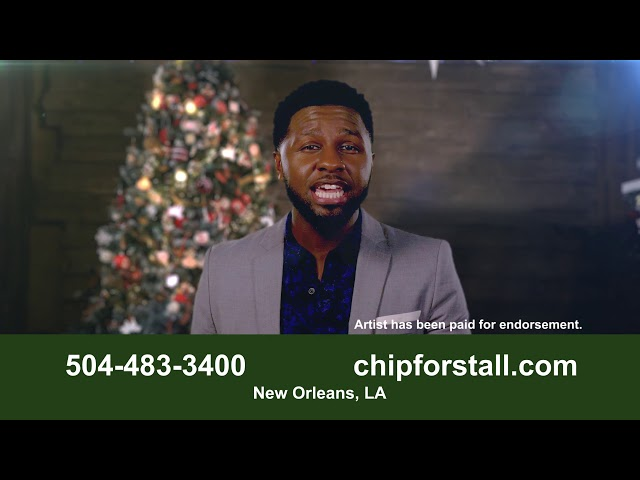 R & B Artist Brandon Tarell gets into the holiday spirit with Attorney Chip Forstall
