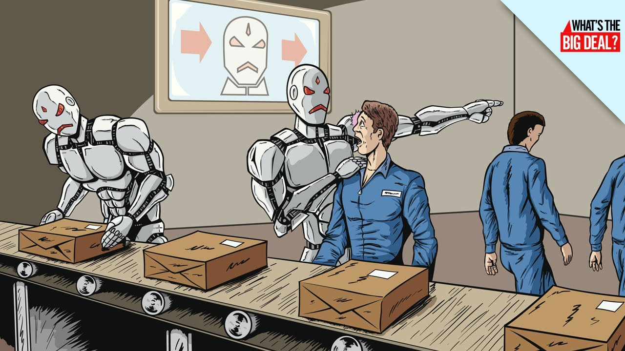 Image result for robots replace jobs