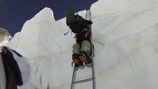 Khumbu Icefall 2015 Everest Expedition Video 3