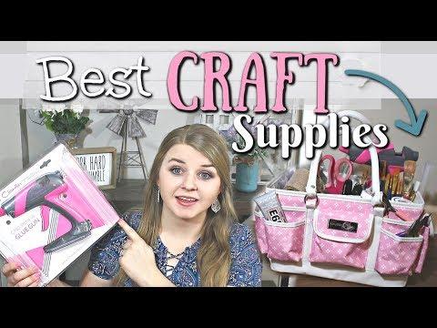 My Favorite Craft Supplies | Top 10 Craft Supplies | Krafts by Katelyn
