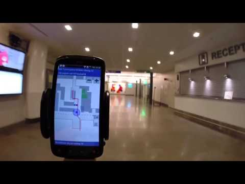 Indoor Positioning, Linköping University Hospital