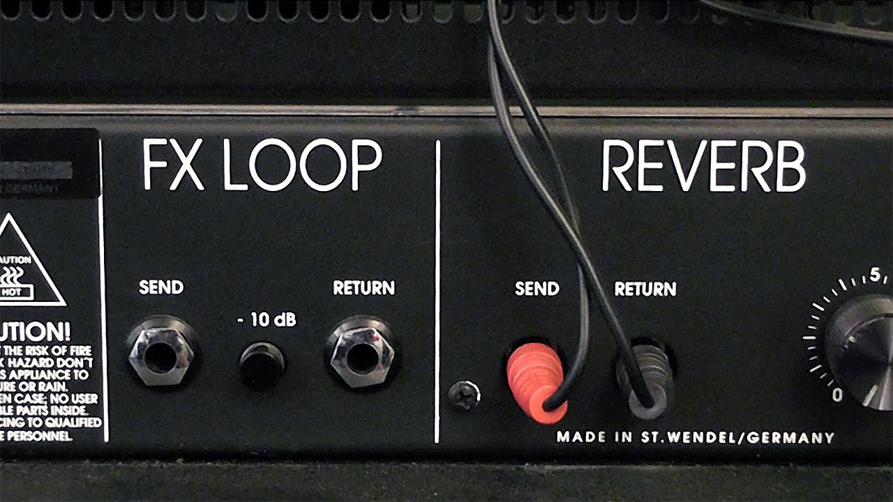 Guitar Amp Fx Effects Loop Tutorial Youtube Les Paul Input Jack Wiring
