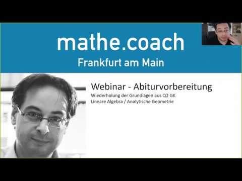 Webinar Abiturvorbereitung  - Q2 GK Alle Grundlagen