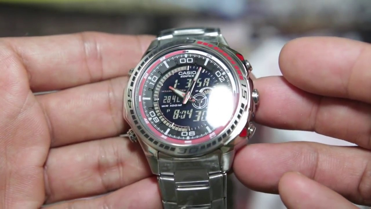 инструкция к часам casio edifice efa-120l-1a1