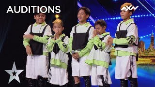 ADORABLE Awesome Junior Won Judges Over With Their Dance Moves! | Asia's Got Talent 2019 on AXN Asia