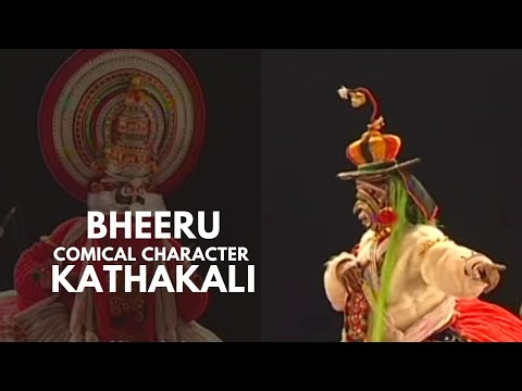 Bheeru - comical character in Kathakali