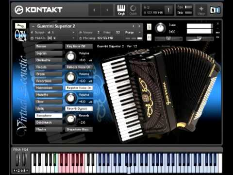 Torrent Virtual Acoustic Guerrini Superior 2 Accordion For Ni Kontakt Vst U U