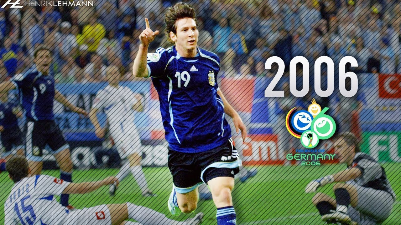 Download Lionel Messi ● World Cup ● 2006 HD