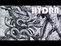 Hydra, the Serpentine Lake Creature - Greek Mythology
