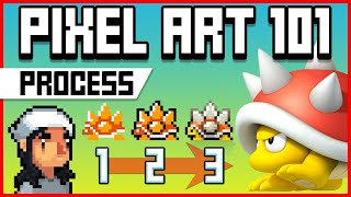 Pixel Art 101: How to Improve a Sprite!