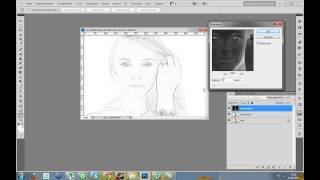 Kalis12-Photoshop видео урок 1 Как сделать из фотографии рисунок.(Видео урок про то как сделать из фотографии рисунок. Как то тихо меня слышно( Когда я обрабатывал видео было..., 2013-04-13T08:37:39.000Z)