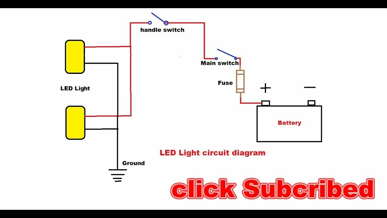 Basic Led Light Wiring Diagram